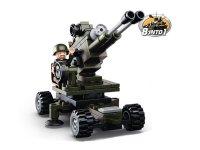 Stavebnice SLUBAN ARMY DĚLOSTŘELEC M38-B0587E