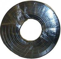 Koax 50ohm RG58A-U, 5mm, černý, balení 100m