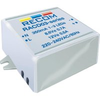 LED zdroj konst. proudu Recom Lighting RACD03-350, 21000128, 350 mA, 12 V