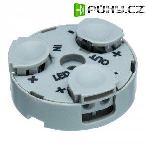 Rozbočovací terminál pro LED Adels-Contact, 601103, 0,34 - 0,5 mm², 2pólová, světle šedá
