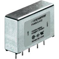 Odrušovací filtr Schaffner FN 406-1-02, 250 V/AC, 1 A