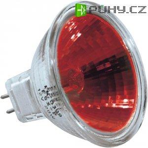 Halogenová žárovka, 12 V, 20 W , GU5.3, 2500 h, červená
