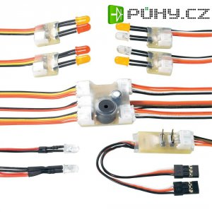 Multifunkční osvětlení modelu Modelcraft včetně 10 LED se speciálními funcemi a zvukem
