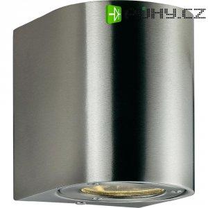 Venkovní nástěnné LED svítidlo Nordlux Canto 77571034, 2x 3 W, nerez