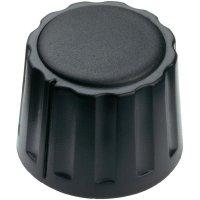 Otočný knoflík Mentor 4332.4000, 4 mm, matně černá