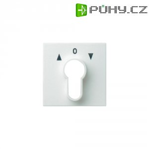 Krytka klíčového spínače Gira, 066403, lesklá bílá