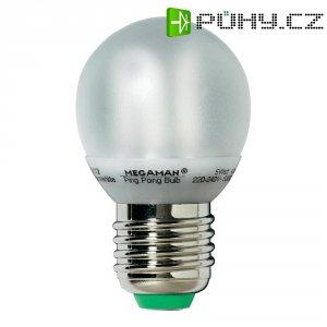 Úsporná žárovka kulatá Megaman Ping Pong E27, 5 W, teplá bílá