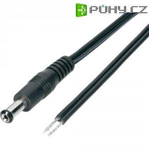 Napájecí kabel zástrčka/zásuvka, zástrčka rovná, 4,95/4,95 mm, 1,5 m