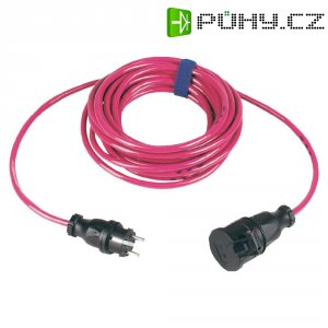 Prodlužovací kabel Sirox, 10 m, 16 A, růžová