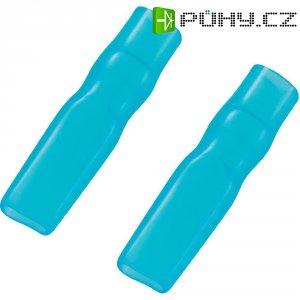 Bužírka na ploché konektory 2,8 mm, modrá