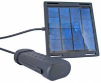 Solární nabíječka pro AA baterie (výkon 1,2W)