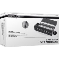 Síťový patch box Digitus Professional DN-91608SD, 8 portů, CAT 6, 1 U
