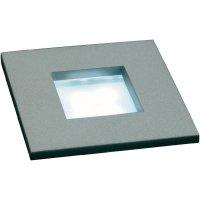Vestavné světlo LED SLV Mini Frame LED, 4x 0,3 W, plast/sklo, bílá