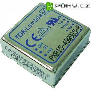 DC/DC měnič TDK-Lambda PXB15-24WS3P3, vstup 9 - 36 V/DC, výstup 3,3 V, 4 A, 13,2 W