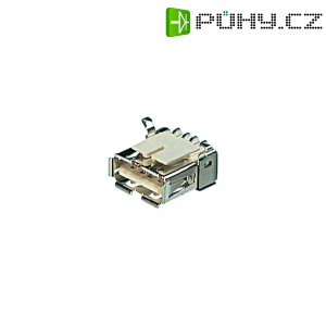 USB zásuvka Typ B s SMD koncovkou ASSMANN WSW A-USB B/SMT, zásuvka vestavná