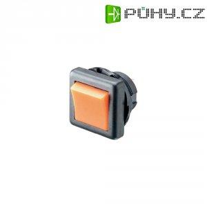Tlačítkový spínač SCI, R13-136A-05 RED, 250 V/AC, 6 A, 1x zap./vyp., červená