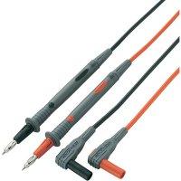 Sada silikonových měřicích kabelů Voltcraft MS-4P pro multimetry, 1,2 m