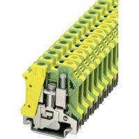 PE svorka Phoenix Contact USLKG 10 N (3003923), šroubovací, 10,2 mm, zelenožlutá