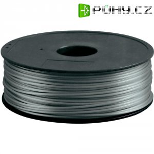 Náplň pro 3D tiskárnu, Renkforce HIPS300S1, materiál HIPS, 3 mm, 1 kg, stříbrná