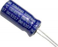 10u/350V 85° Samhwa 10x20x5mm, elektrolyt.kondenzátor radiální