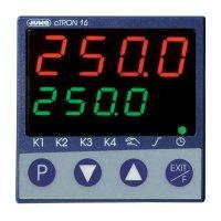 Kompaktní třístupňový termostat s časovačem Jumo CTRON16, 20-30V AC/DC