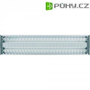 Stropní svítidlo Osram Lumilux Duo EL-F/R, 2x 36 W, stříbrná/šedá