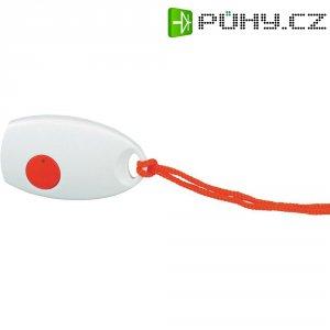 Bezdrátové nouzové zvonkové tlačítko HX Mini Heidemann, 70370, 100 m, bílá/červená