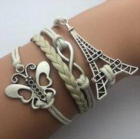 Šperk náramek Infinite hnědá 1