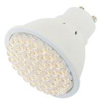Žárovka LED GU10/230V (54LED-H) 2.7W - bílá teplá