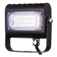LED reflektor PROFI PLUS, 15W neutrální bílá, černý