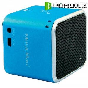 Mini bezdrátová sound stanice Technaxx MusicMan ® BT-X2, modrá