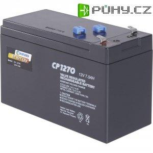 Olověný akumulátor, 12 V/7 Ah,Conrad energy