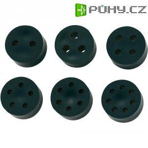 Těsnicí vložka KSS EGRS114C (MH14-4C), IP68, PG11, guma, černá