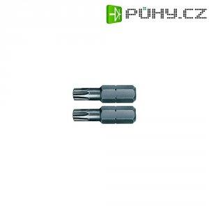 Torx bity Wiha, chrom-vanadiová ocel, velikost T10, 25 mm, 2 ks