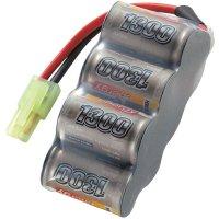 Akupack NiMH (modelářství) Conrad energy, 8.4 V, 1300 mAh, zásuvka mini Tamiya