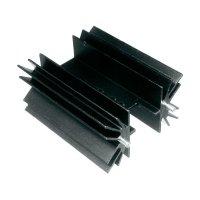 Prolisovaný chladič s piny Assmann WSW V8511X, 38,1 x 41,6 x 25 mm, 5 K/W
