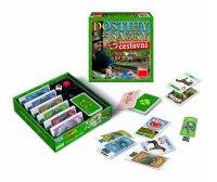 Hra stolní DINO DOSTIHY a SÁZKY dětská cestovní