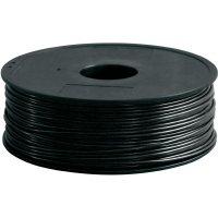 Náplň - vlákno pro 3D tiskárny Renkforce PLA300B1, PLA plast, 3 mm, 1 kg, černá