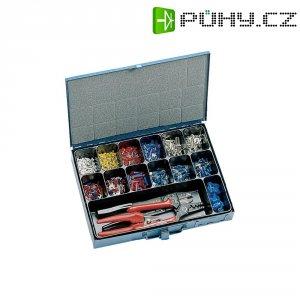 Sada koncových objímek kabelu s nářadím, 0,75 - 10 mm², 1403 ks
