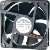 Voděodolný axiální ventilátor, RD12038B24M, 24 V, 41 dBA, 120 x 120 x 38 mm