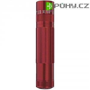 Kapesní LED svítilna Mag-Lite LED XL100, červená