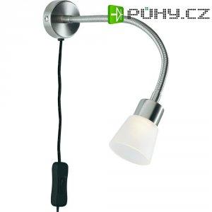 Nástěnná LED lampa Milena, W001011, nikl