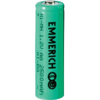Akumulátor Emmerich. NiMH, AA,2500 mAh