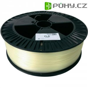 Náplň pro 3D tiskárnu, German RepRap 100181, PLA, 1,75 mm, 2 kg, transparentní