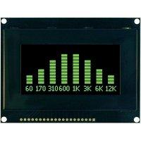 OLED displej, VGG12864L-S003, 9,1 mm, zelená/černá