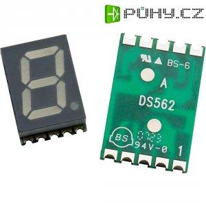 Displej 7segmentový Avago Technologies, HDSM-433F, 10 mm, žlutá, HDSM-433F