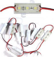LED modul bílý 12V,3xLED SMD5050
