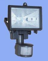 Halogenový reflektor s pohybovým spínačem (pro žár. 78mm/150W)