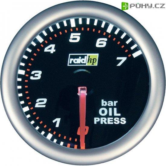 Palubní tlakoměr oleje Raid Hp NightFlight, 660241 - Kliknutím na obrázek zavřete
