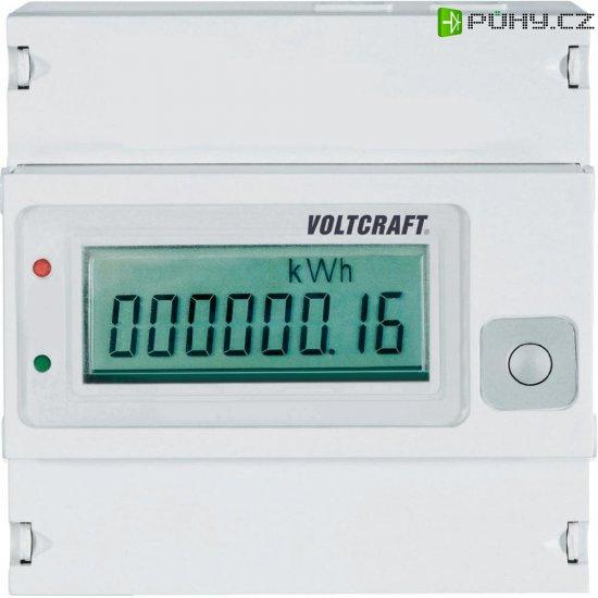 Třífázový digitální elektroměr Voltcraft VSM-102, na DIN lištu - Kliknutím na obrázek zavřete
